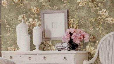 عکس از رنگ بهتر است یا کاغذ دیواری؟