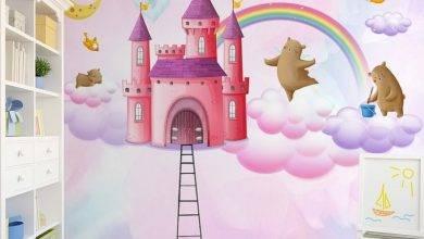 عکس از بهترین ایده ها برای کاغذ دیواری اتاق نوزاد