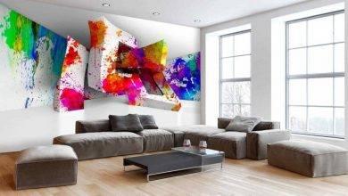 عکس از چه قسمت هایی از خانه مناسب نصب کاغذ دیواری سه بعدی هستند؟