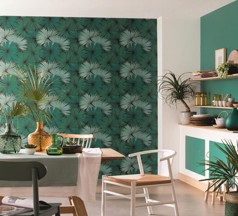 عکس از رنگ کاغذ دیواری چه تاثیری بر محیط خانه دارد؟