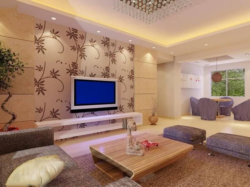 عکس از ایده برای کاغذ دیواری با طراحی خاص دکوراسیون منزل