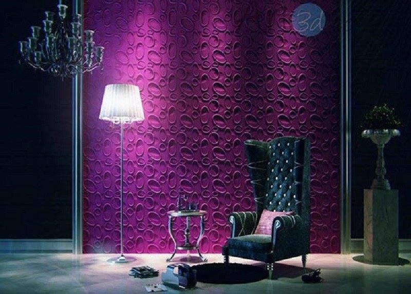 عکس از انواع طرح پنل سه بعدی دیواری با جنس های مختلف