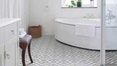 عکس از نکات مهم برای انتخاب کفپوش چوبی مناسب برای حمام