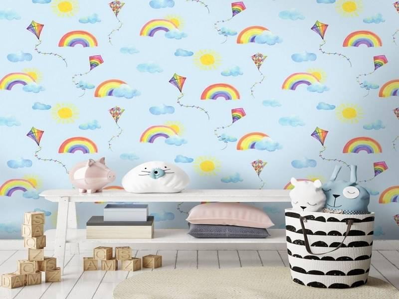 عکس از چگونه برای اتاق خواب کودک کاغذ دیواری مناسب انتخاب کنیم؟