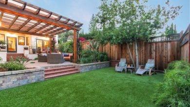 عکس از چمن مصنوعی در طراحی فضای سبز؛ حیاط و بالکن شگفت انگیز را تجربه کنید!