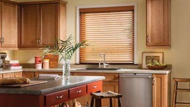 عکس از 5 راهکار برای انتخاب پرده آشپزخانه مدرن