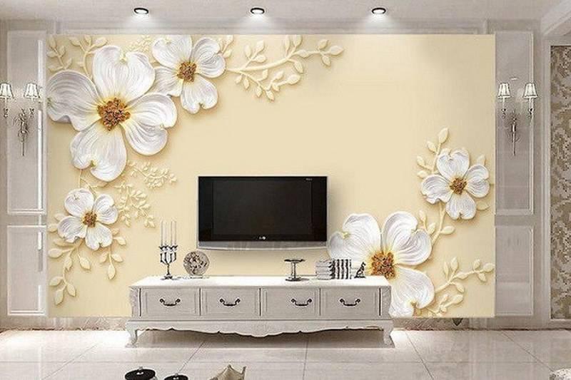 عکس از کاغذ دیواری سه بعدی چیست و چه کاربردی دارد؟
