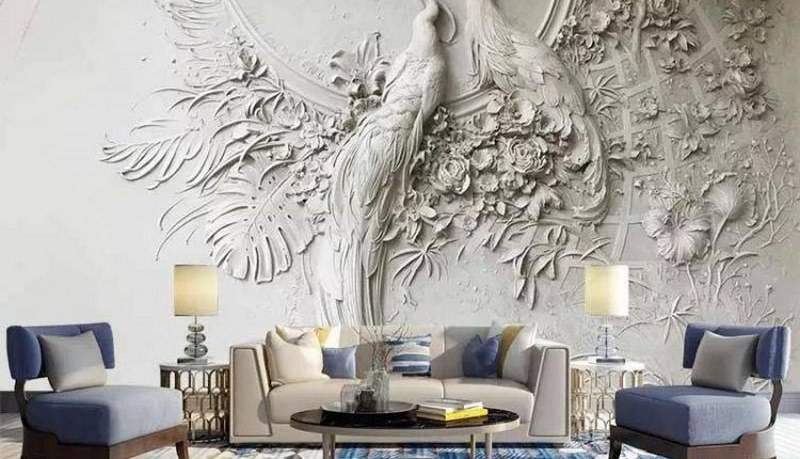 عکس از آیا می دانید تفاوت پوستر دیواری و کاغذ دیواری در چیست؟