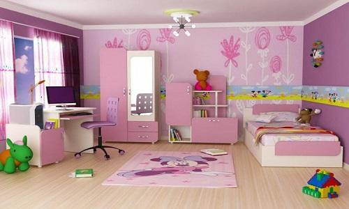 عکس از کاغذ دیواری مناسب اتاق کودک