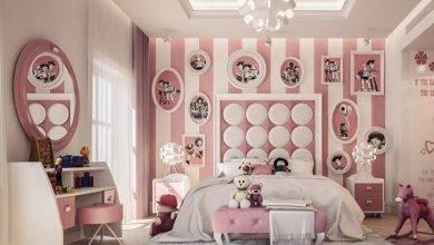 عکس از دکوراسیون و سرویس خواب اتاق کودک